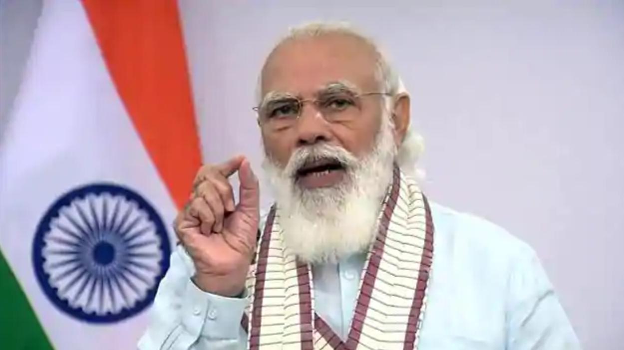PM Modi takes dig